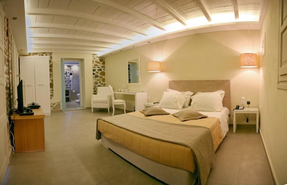 ξενοδοχεια μυτιληνη με θεα θαλασσα - Oikies Houses Mytilene
